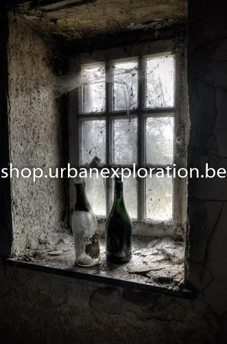 Agnus Dei - Bottles in window